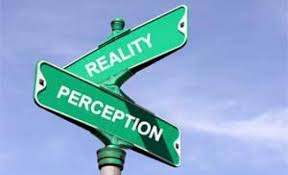 Perception Reality Crossroads
